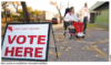 VOTE ON OR BEFORE NOVEMBER 6: Take advantage of accommodations to cast election ballots