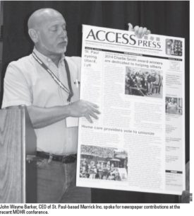 Access Press's future looks brighter thanks to generous supporters